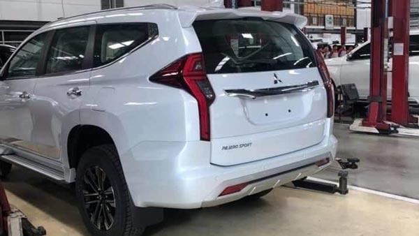 2020 Mitsubishi Pajero Sport, Interior, Price >> New 2020 Mitsubishi Pajero Sport Images Leaked Receives An