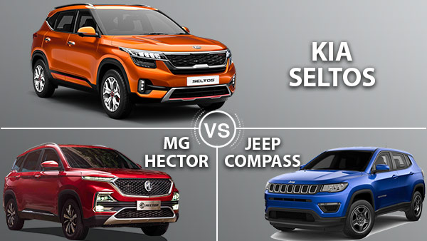 Kia Seltos Vs MG Hector Vs Jeep Compass — Does The Kia Seltos Have What It Takes?