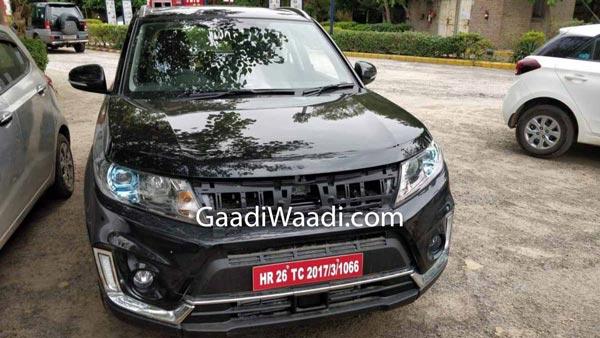 Maruti Suzuki Vitara Spotted Testing In India — Kia Seltos Rival In The Making?