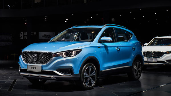 MG eZS Electric SUV India-Launch Plans