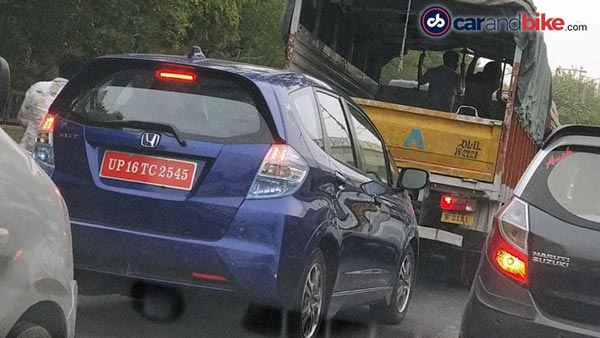 Honda Jazz Electric Spied Testing In India Yet Again — India-Launch On The Cards?