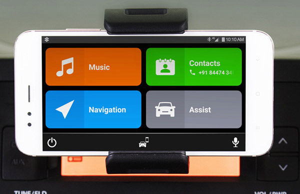 Maruti Suzuki SmartPlay Dock System — Your SmartPhone Becomes Your Infotainment System