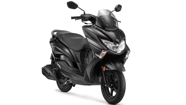 Suzuki Burgman Street 125 Launched In New Matte Black Paint Scheme — Priced At Rs 69,208