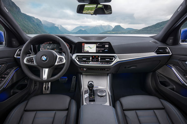 New BMW 3 Series Launch Interior Features