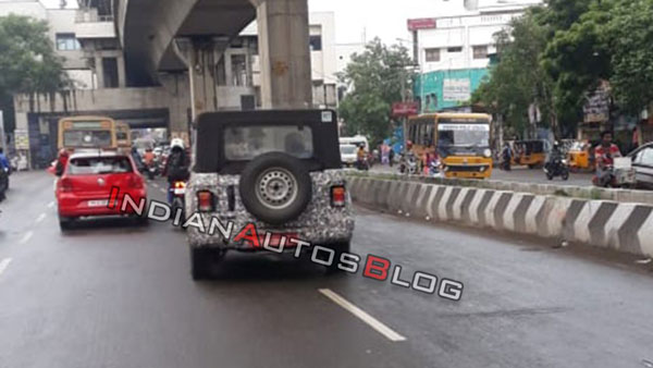 2020 Mahindra Thar And TUV300 Plus Spy Pics & All Details: Spotted While Testing