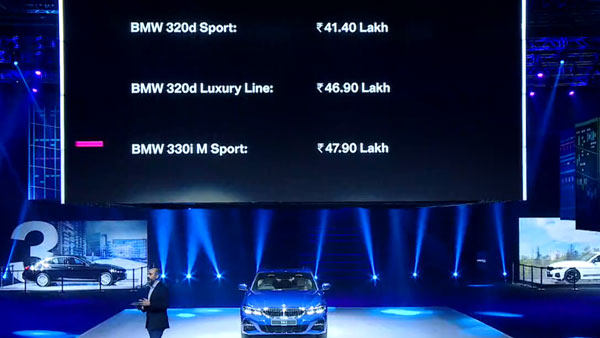 New BMW 3 Series Launch Price