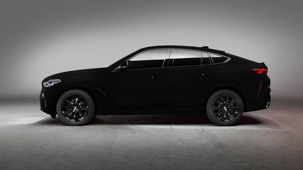 BMW X6 Vantablack Unveil At Frankfurt Motor Show In