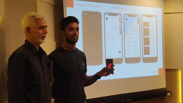 Recky App For World Motorcyclists Launched By CS Santosh