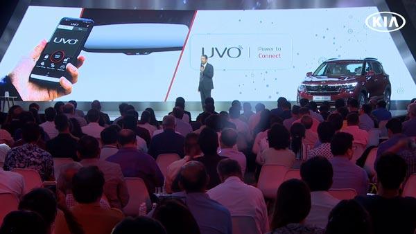 Kia Seltos UVO technology