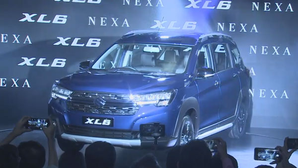 Maruti Suzuki XL6 Launch