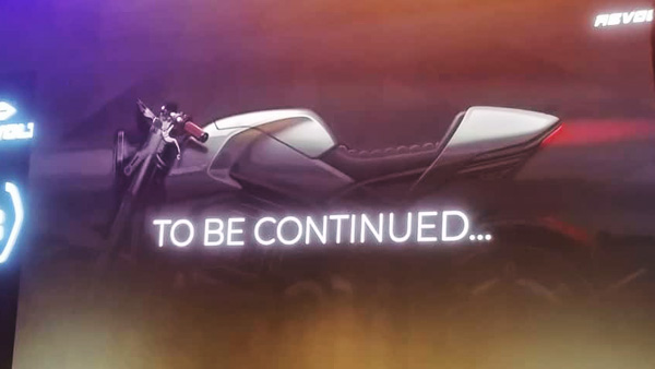Revolt Cafe Racer Electric Bike Teased: The Next Product From The Electric Motorcycle Start-Up In India
