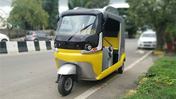 Shado Erick Electric Three-Wheeler Features