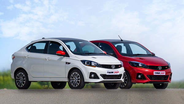 Updated Tata Tiago & Tigor JTP Variants Launched In India With Prices Starting At Rs 6.69 Lakh