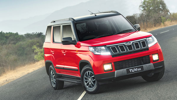 New Mahindra TUV300 BS6 Spied Testing: Exclusive Spy Pics Of Upcoming BS-VI Compliant TUV300