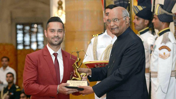 Gaurav Gill Receives Arjuna Award For Outstanding Contribution In The World Of Motorsport