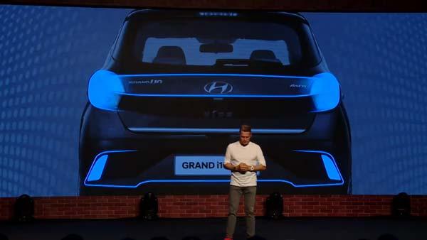 Hyundai Grand i10 NIOS Rear design