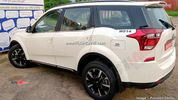 Mahindra XUV500 Top-Spec BS6 Variant Spied Testing