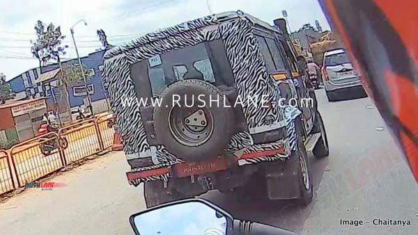 Spy Pics: 2020 Force Gurkha 3-Door Spied Testing In India Ahead Of Its Launch Next Year