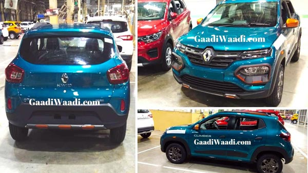 Spy Pics: Renault Kwid Climber Facelift Spied Undisguised Ahead Of Launch