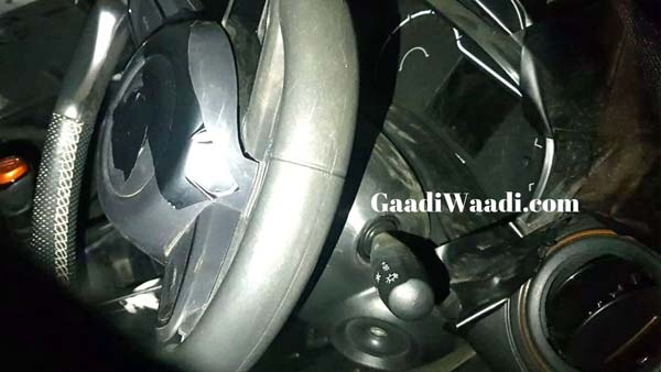 Spy Pics: Renault Kwid Facelift Interiors Leaked Ahead Of Its Launch In India