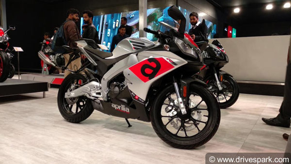 New Aprilia 150cc Motorcycle To Be Launched In India At 2020 Auto Expo: To Rival The Yamaha R15