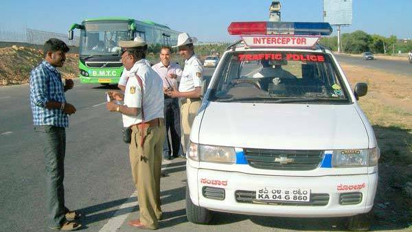 Bangalore Police To Use Traffic Fines To Improve Infrastructure