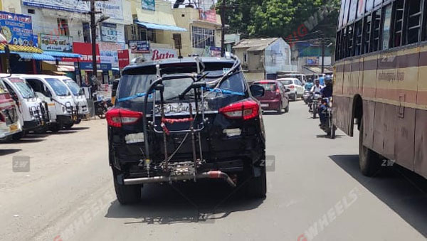Spy Pics: Mahindra Alturas G4 BS6 Spied Testing In India With New Updates Ahead Of Launch