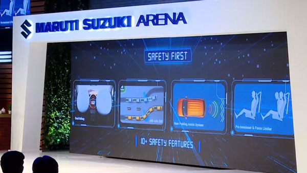 Maruti S-Presso Safety Features