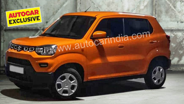 Spy Pics: New Maruti S-Presso Spotted Completely Undisguised Ahead Of Launch In September