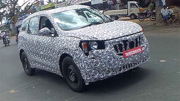 2020 Mahindra XUV500 Spied Testing Ahead Of Launch Next Year: Spy Pics & Details