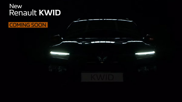 New Renault Kwid Facelift Launch Date Confirmed For 1st October: Bookings & Delivery Details