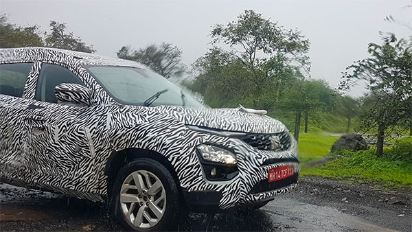 Spy Pics: Tata Cassini (7-Seater Harrier SUV) Spied Testing Ahead Of Launch