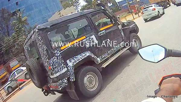 New (2020) Force Gurkha 3-Door Seen Testing In India Ahead Of Launch: Spy Pics & Details