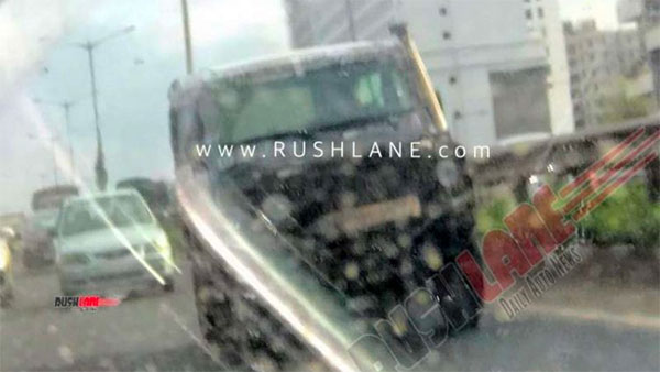 Spy Pics: 2020 Force Gurkha Spied Testing In India Ahead Of Its Launch Next Year