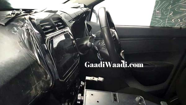 Renault Kwid Facelift Interiors Spied Ahead Of India Launch: Spy Pics & Details
