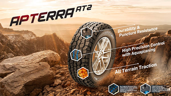 Apollo Apterra AT2 All-Terrain Tyres Launched In India: Details & Specs