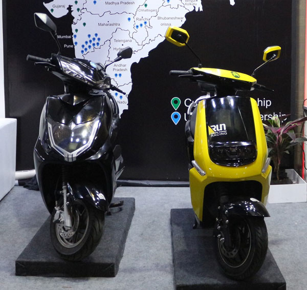 Avan Motors Showcased Two Electric Scooter Concepts At The Pune Motor Show 2019