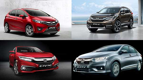 Honda Amaze, Jazz, City, Civic, BR-V, WR-V, CR-V: Discounts & Offers For September