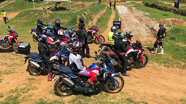 Honda's Africa Twin True Adventure Camp At Bangalore
