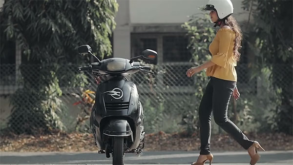 Self-Balancing Electric Scooter In India: Liger Mobility Electric Scooter's Video & Details