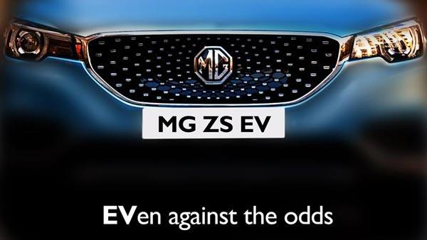 MG eZS Teased Ahead Of India-Launch Next Year: To Rival The Hyundai Kona EV