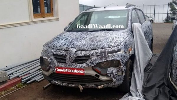 New Renault Kwid Climber Facelift Spied Testing Ahead Of Launch: Spy Pics & Details