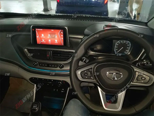 Spy Pics: Tata Altroz Interiors Leaked Ahead Of Its Launch In India