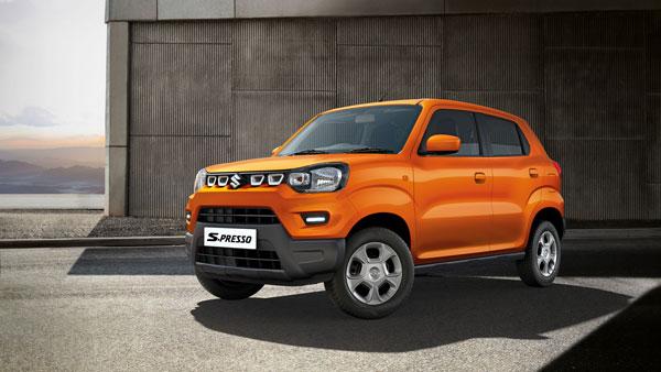 Maruti Suzuki S-Presso Bookings Crosses 10,000 Units Since Launch: Rivals The New Renault Kwid
