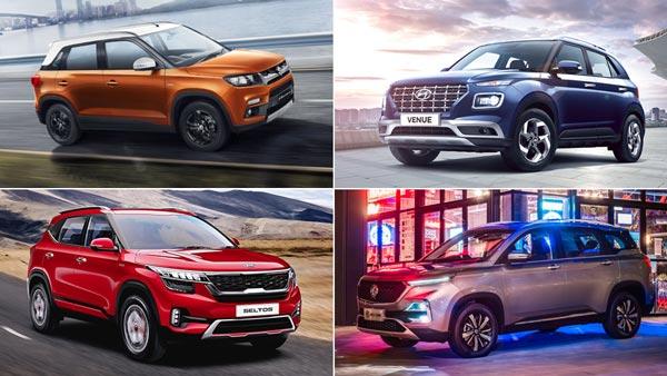 Top-Selling SUVs In India For September 2019: Maruti Vitara Brezza Regains Best-Selling SUV Title