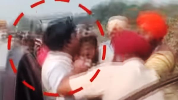 UP Politician Attempts Using A Gun To Clear Traffic; Gets Roughed Up By The Public