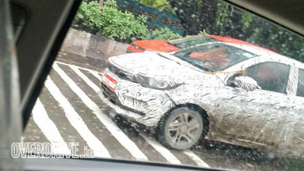 Spy Pics: Tata Tigor (2020) Spied Testing Ahead Of India Launch
