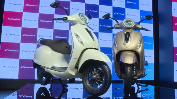 Bajaj Chetak Electric Scooter Unveiled: Will Rival The Ather 450