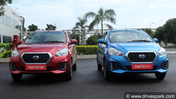 Datsun GO & GO+ CVT Launched In India: Prices Start At Rs 5.94 Lakh