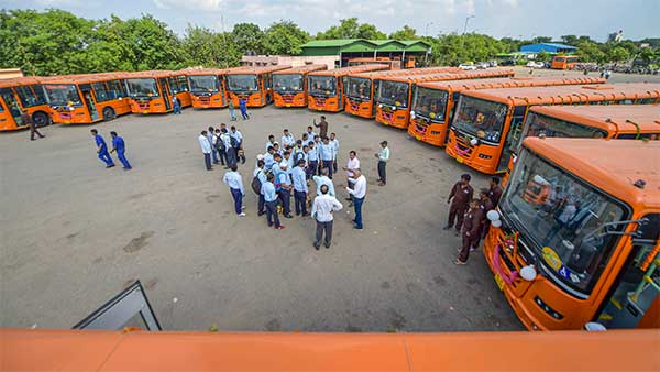 Delhi To Receive 100 More Cluster Buses This Week: More Buses Every Month